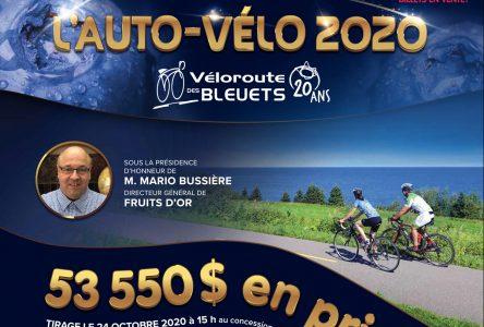 La Véloroute des Bleuets lance sa campagne de financement l'Auto-vélo 2020