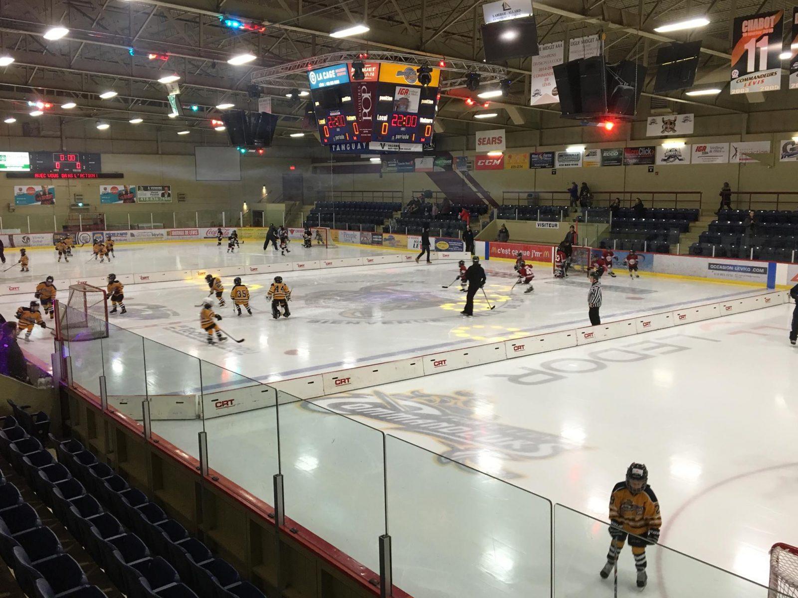 Tout est prêt pour une nouvelle saison de hockey