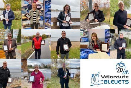 Temple de la renommée : La Véloroute des Bleuets dévoile ses 13 lauréats