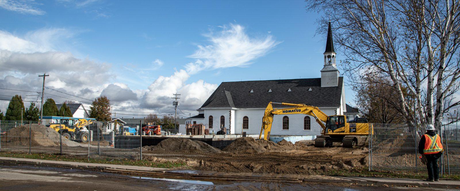 Péribonka : la nouvelle caserne de pompier livrée au début novembre