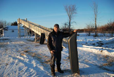 Les Jardins de Normandin fin prêts pour les activités hivernales