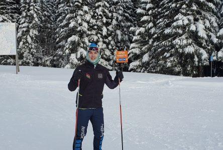 Jérémie Trottier est un passionné du ski de fond