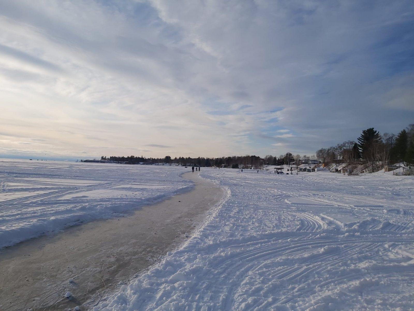 Un sentier de glace de 10 km à Vauvert