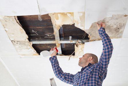 4 étapes pour identifier une fuite de toiture