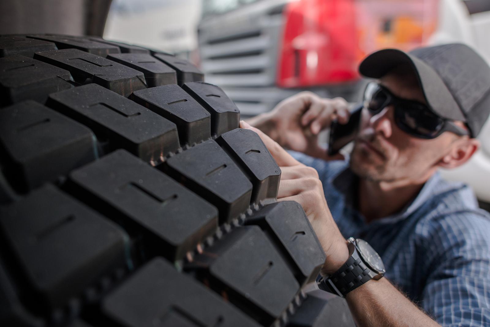 Comment se fait le balancement de pneus de camions ?