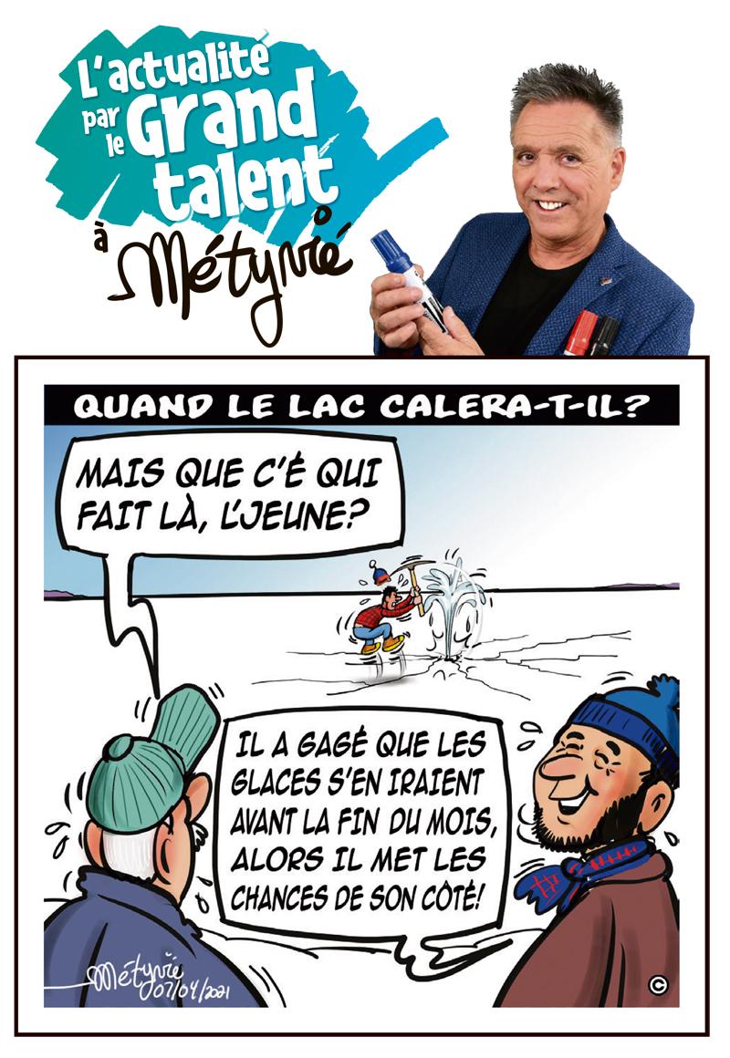 L'actualité par le Grand talent à Métyvié du 7 avril 2021