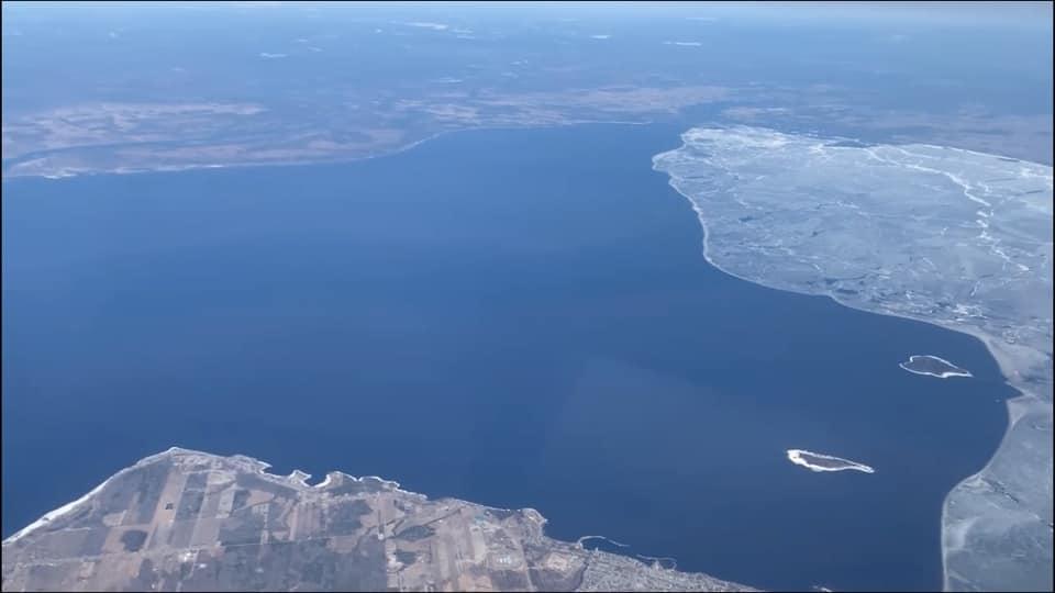 Le lac est officiellement «calé» !