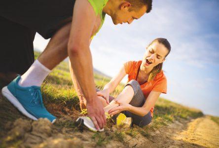 Comment se rétablir d'une blessure sportive?