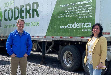 Plus d'un million de masques recyclés au Saguenay–Lac-Saint-Jean