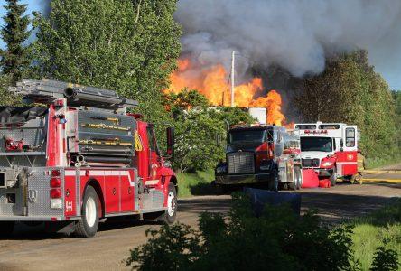 Albanel: maison ravagée par un incendie