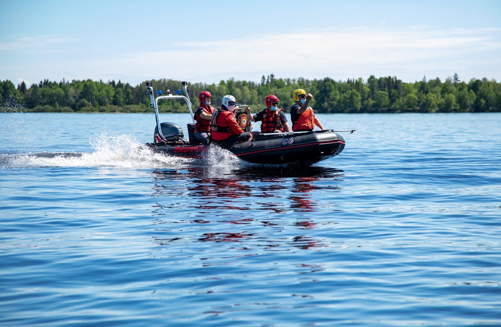 Pêcheur porté disparu au nord-ouest du Lac-Saint-Jean