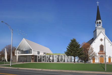 Espace Péribonka: L'édifice livré au début de novembre