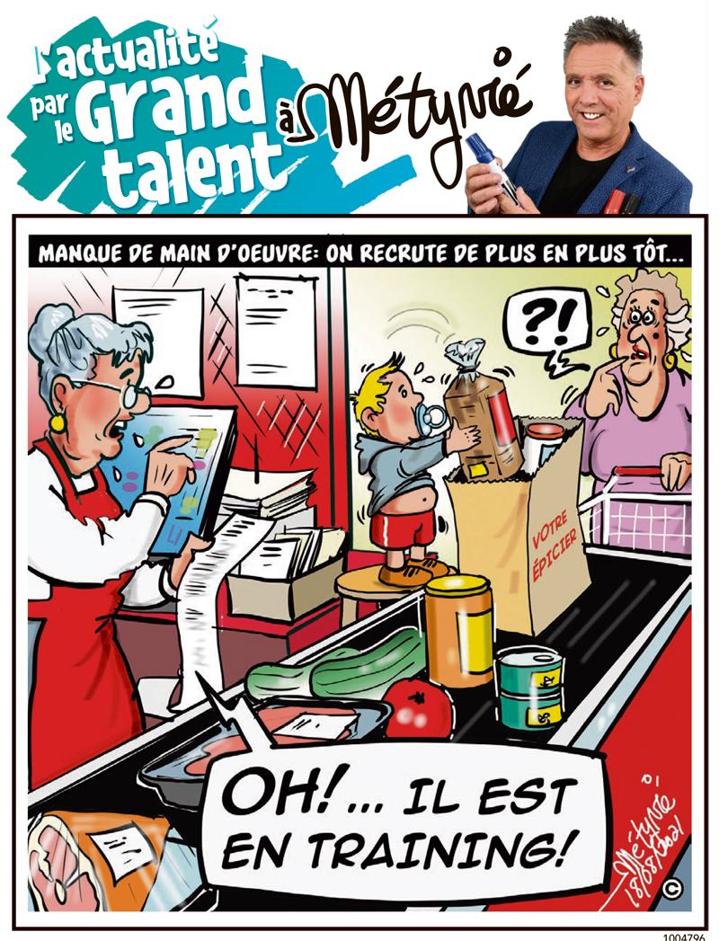L'actualité par le Grand talent à Métyvié du 18 août 2021