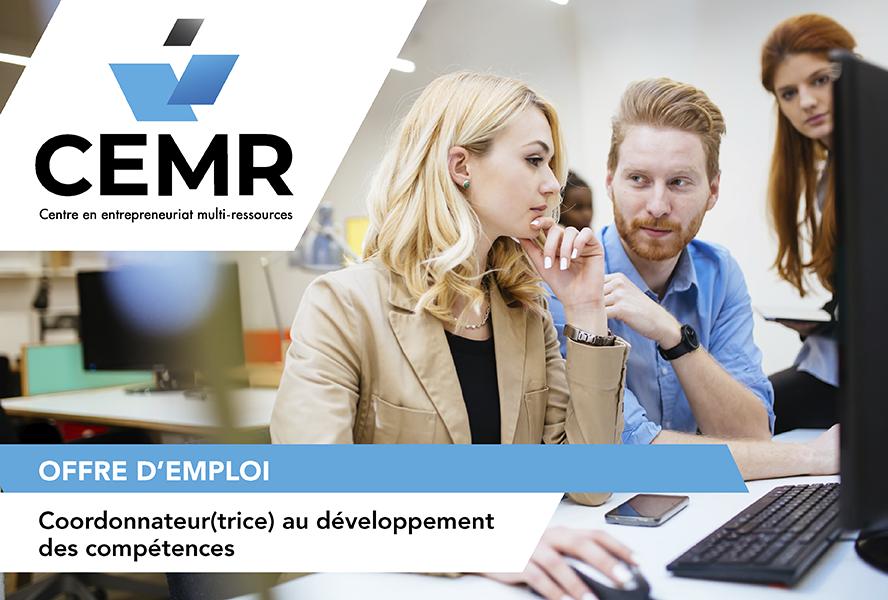 Le CEMR recherche un(e) coordonnateur(trice) en développement des compétences