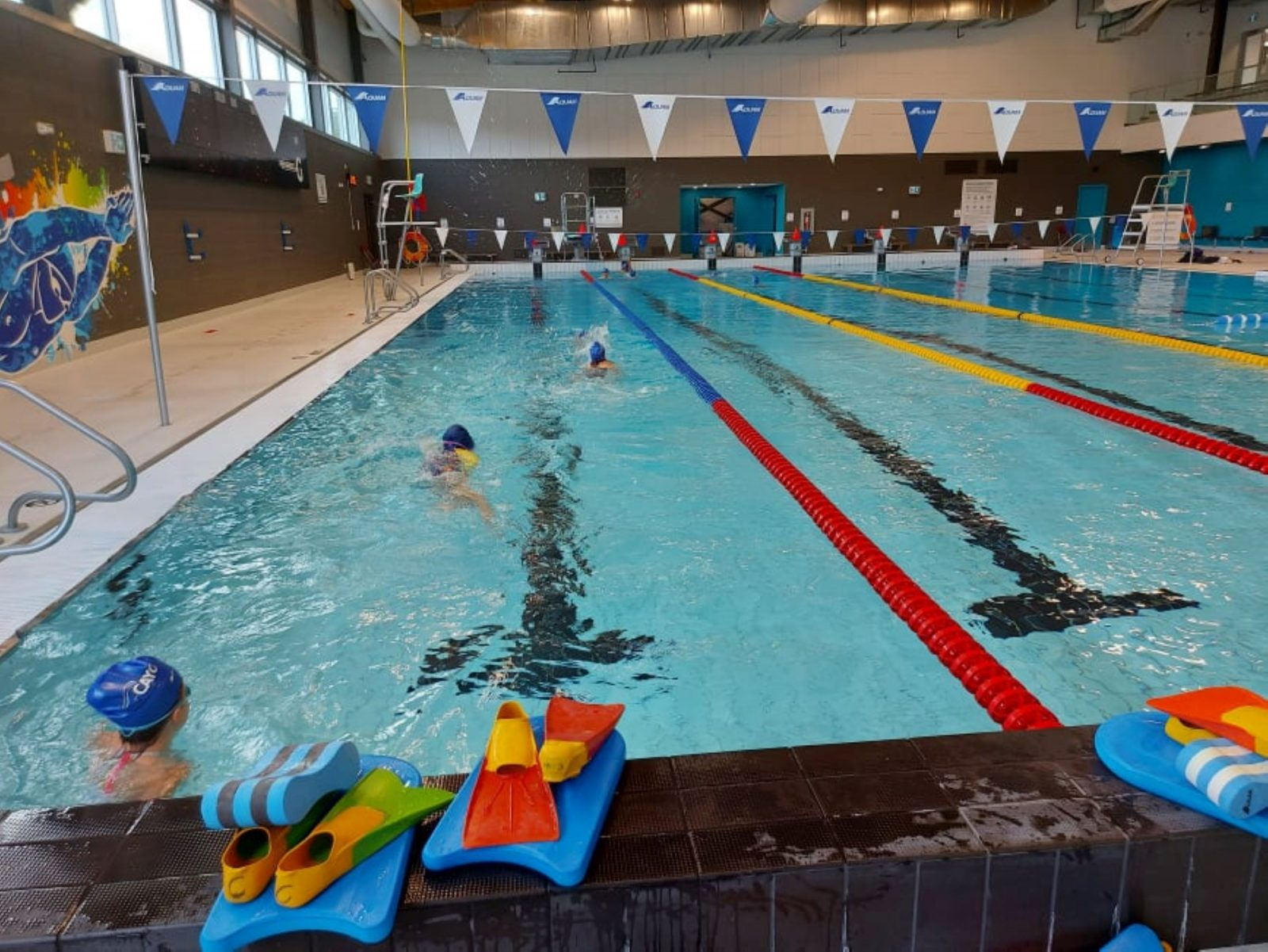 Club de natation AquaY'eau: À seulement quelques brasses du grand jour