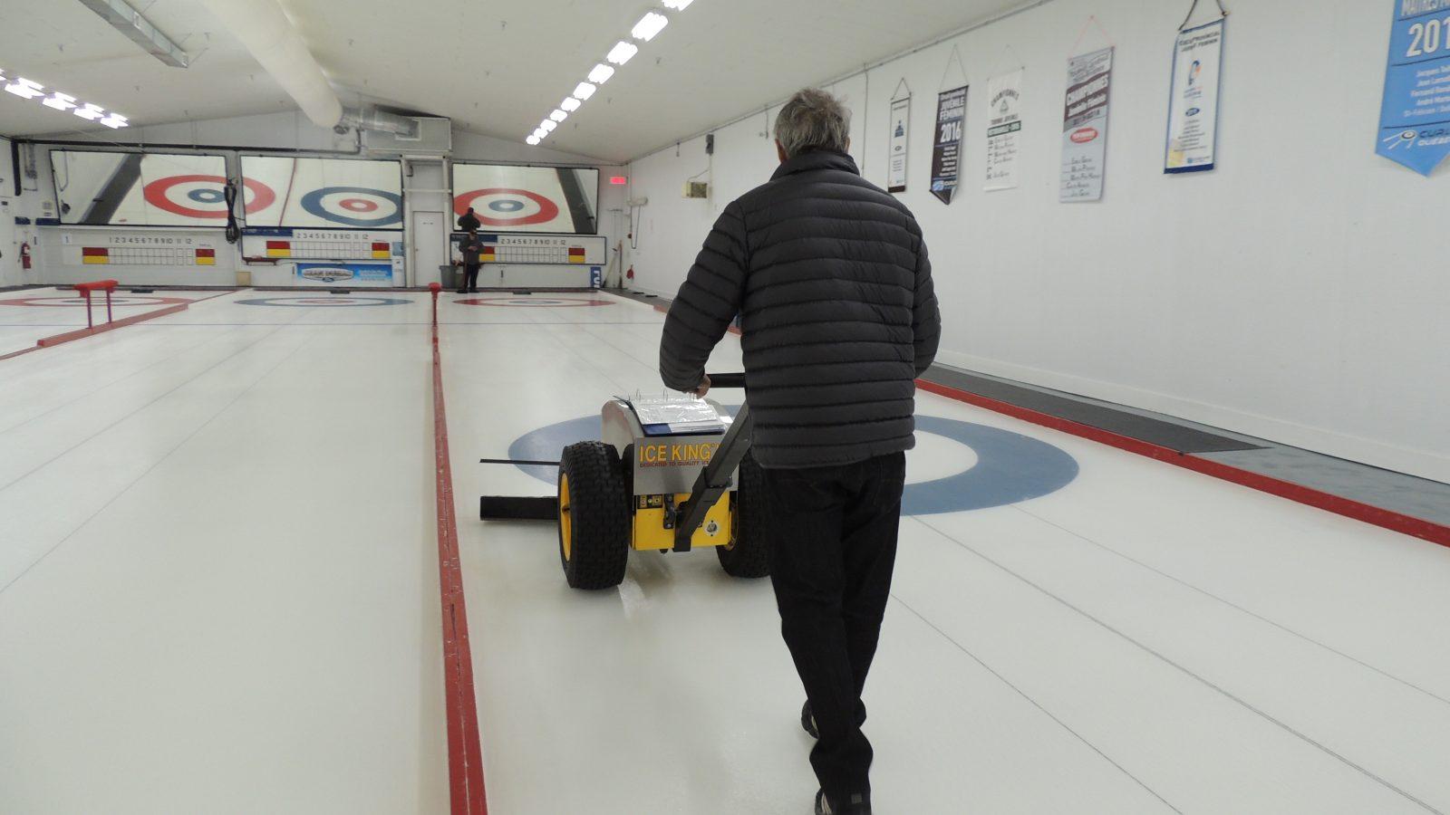 Prochaine saison de curling au Centre civique Desjardins : Un mélange de confiance et de prudence